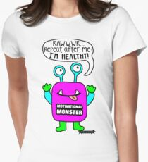 Motivational Monster I'm healthy! by Wishllywood ™ T-Shirt