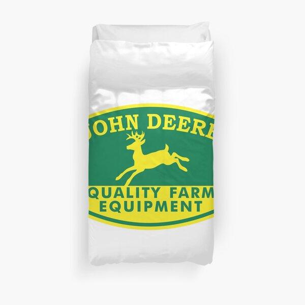 John Deere jaune Housse de couette