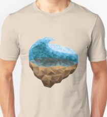 Low Poly Wave Unisex T-Shirt