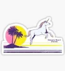 Unicorn Beach Sticker