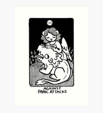 Sigil Against Panic Attacks Art Print