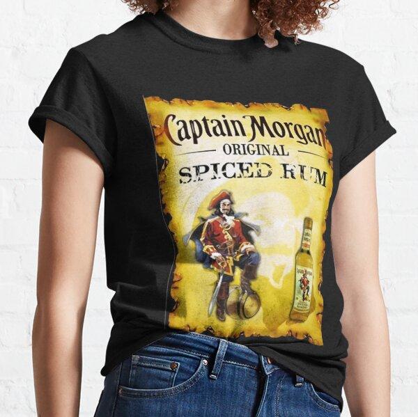 Captain Morgan Women_s à manches longues T-shirt classique
