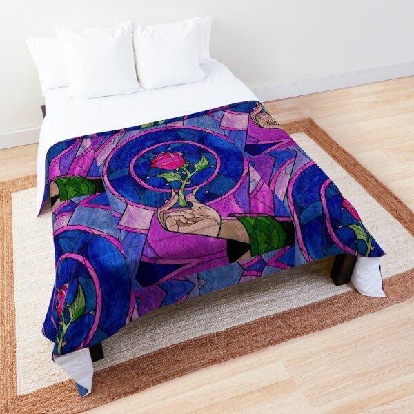 blue rose Comforter