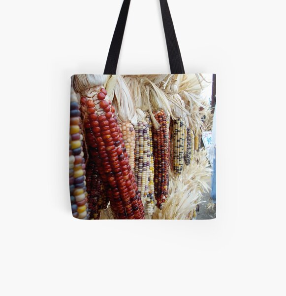 Autumn Harvest All Over Print Tote Bag