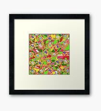 Flower Countryside Counterpane Framed Print