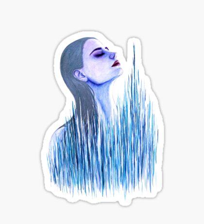Breathing Underwater Sticker