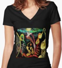 A monkey's dream  Women's Fitted V-Neck T-Shirt