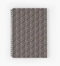 all the numbers (black) Spiral Notebook