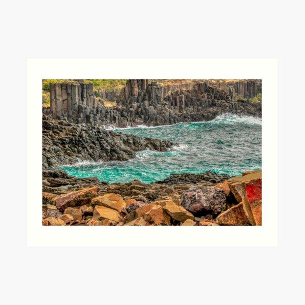Bombo Headland, Kiama Art Print
