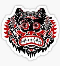 Bear / Birds / Bike - The Den Sticker