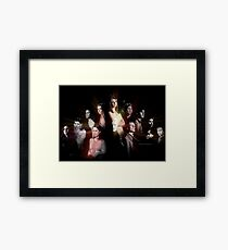Buffy - Characters Framed Print