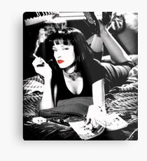 pulp fiction Metal Print