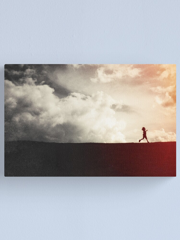 Alternate view of This Helpless Darkness Canvas Print