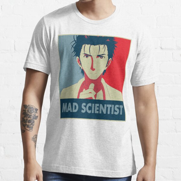 Steins Gate - Científico Loco Pop Art Camiseta esencial