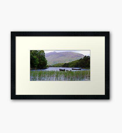 Killarney Boats Framed Print