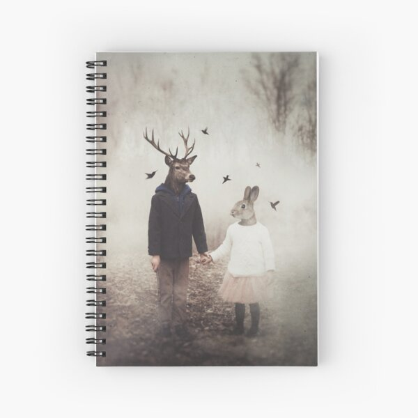 Creatures of Commonplace Spiral Notebook