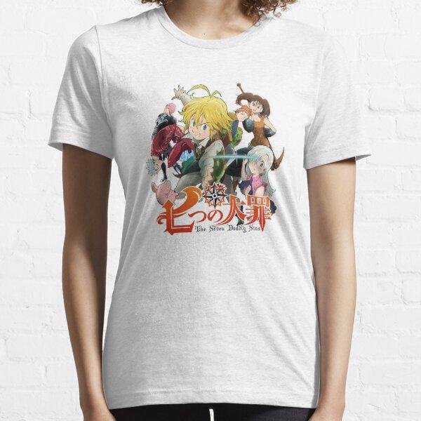 Logotipo de anime de los siete pecados capitales Camiseta esencial