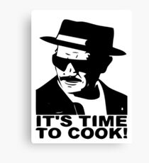 It's time to cook Canvas Print