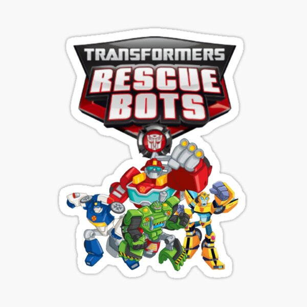 Transformers Rescue Bots Sticker