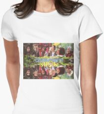 Community - Puppet Show! Womens Fitted T-Shirt