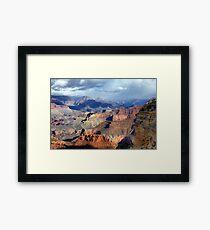 Geological Symphony Framed Print