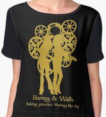 Bering & Wells  Chiffon Top