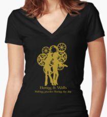 Bering & Wells  Women's Fitted V-Neck T-Shirt