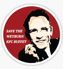 Save the Weyburn KFC Buffet Sticker