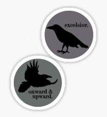 excelsior-raven boys Sticker