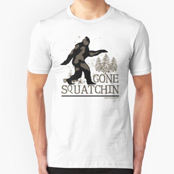 Gone Squatchin Slim Fit T-Shirt