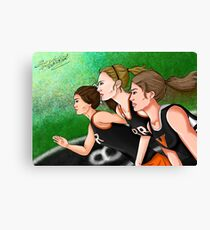 Running, Running, Running Canvas Print