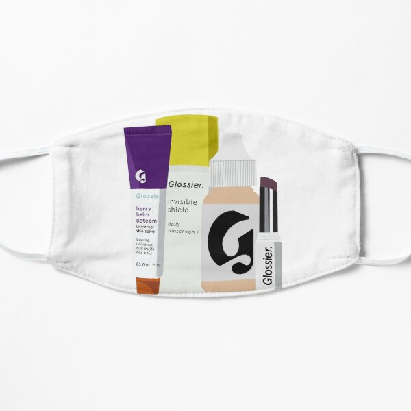 Glossier Makeup and Skincare Products  Flat Mask