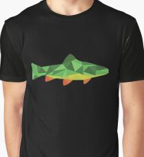 Trout Fish Graphic T-Shirt