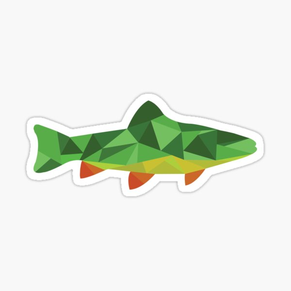 Trout Fish Sticker
