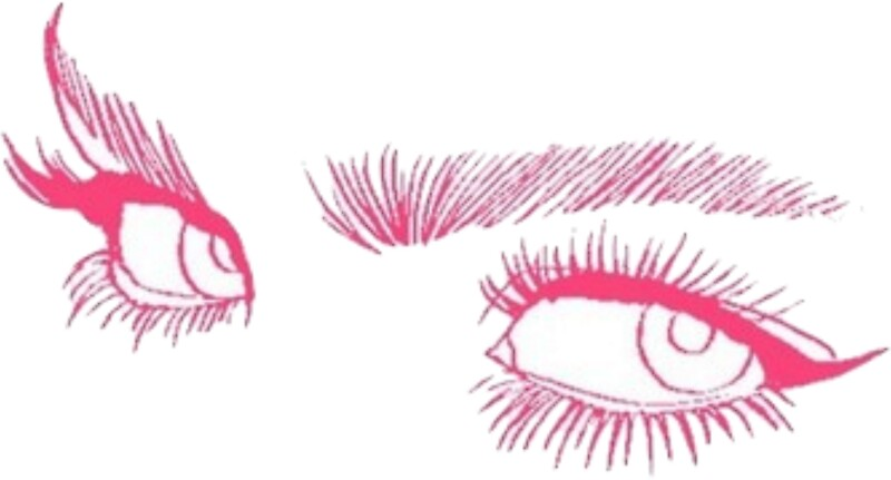 tumblr eyes stickers by cheyannekailey redbubble