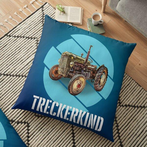 Tractor Child Floor Pillow