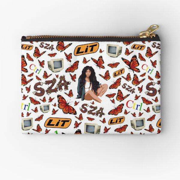 SZA Fan Pack All Over Pattern Zipper Pouch