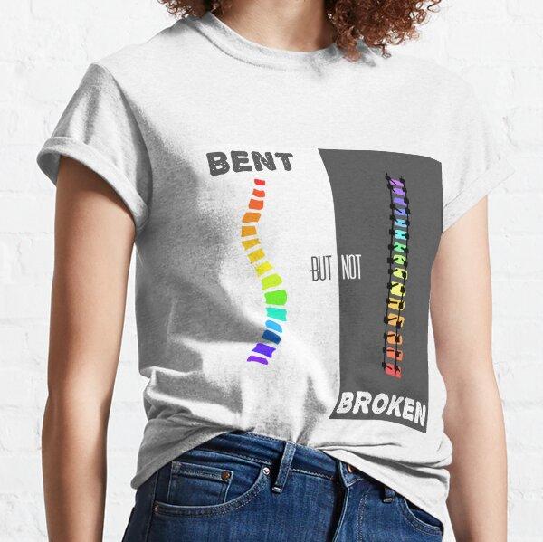 bent but not broken spine Classic T-Shirt