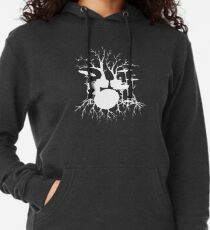 """""""Live the Beat to the Tempo of Creation"""" ~ drum tree art , version1 Lightweight Hoodie"""