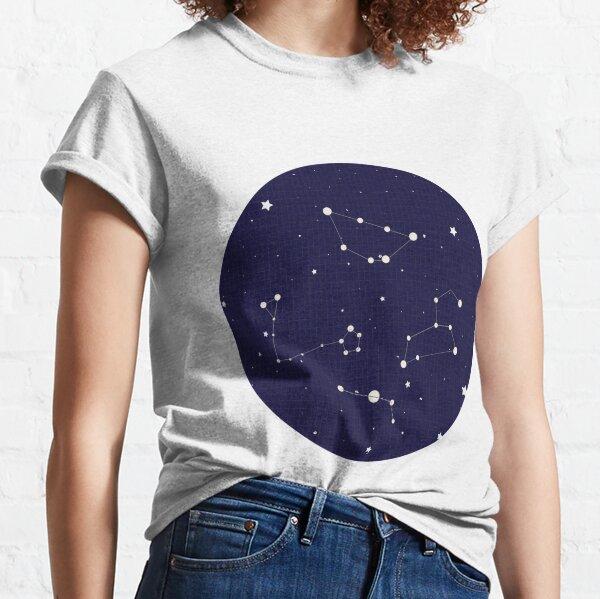 Constellation Night Sky Classic T-Shirt