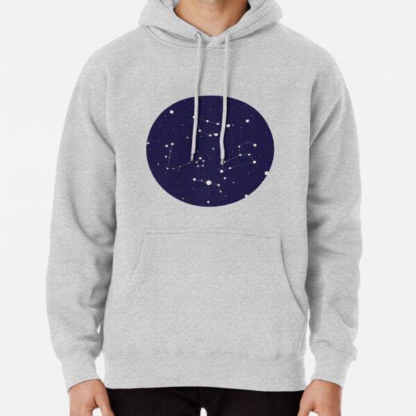 Constellation Night Sky Pullover Hoodie