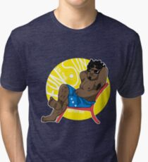 Relax - Small Dude Collection Tri-blend T-Shirt