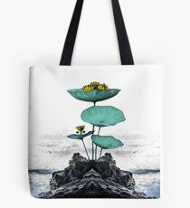 Yoga Floral Art Tote Bag