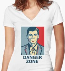 Sterling Archer - Adult Swim Archer Women's Fitted V-Neck T-Shirt