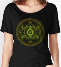 Metatron's Magick Wheel ~ Sacred Geometry Women's Relaxed Fit T-Shirt