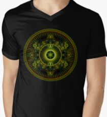 Metatron's Magick Wheel ~ Sacred Geometry Men's V-Neck T-Shirt