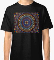 Kaleidoscope 4 abstract stained glass mandala pattern Classic T-Shirt