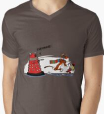 Calvin And Hobbes Adventure Mens V-Neck T-Shirt