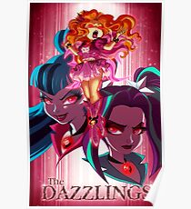 The Dazzlings Poster