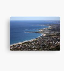 Sublime Point Lookout Canvas Print